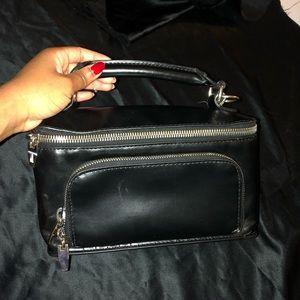 Zara Leather Box Bag